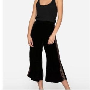 NEW • Johnny Was • Embroidered Velvet Pants XS